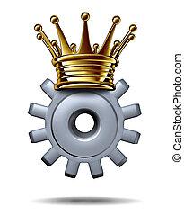 roi, industrie