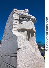 roi, luther, jr., monument, washington dc, martinet