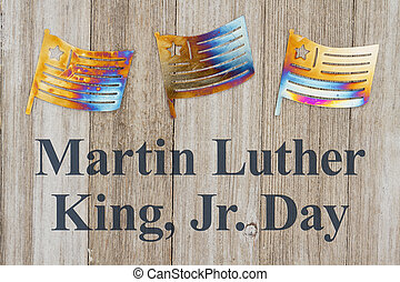 roi, luther, martinet, message, jour