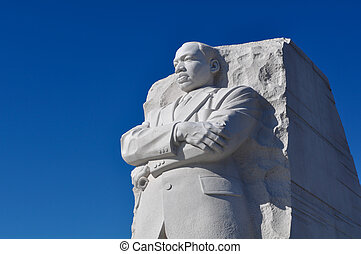 roi, luther, monument, washington dc, statue, martinet