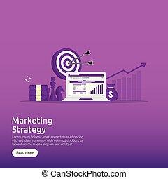 roi, opstand, investering, boven., winst, concept., spreadsheet, strategie, verhogen, mal, terugkeren, financiën, zakelijk, marketing, screen., illustratie, spandoek, controle, charts., stretching, analyse, grafieken