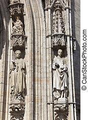roi, place., belgium., maison, magnífico, du, bruselas,...