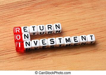 roi return on investment wood