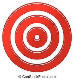rojo, blanco, marca, -, blanco, icono
