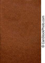 rojo, cuero, cubierta de libro