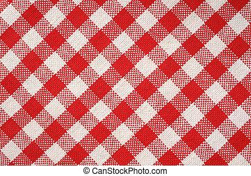rojo, toalla, textura