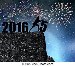 rok, nowy, 2016