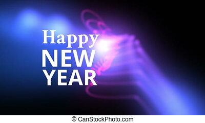 rok, nowy, szczęśliwy