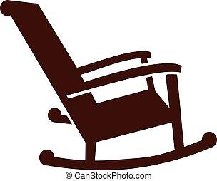 rokke stol, ikon