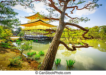 Rokuon-ji Temple Kyoto