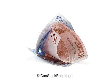 rolado, contas, 4, euro