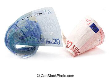 rolado, contas, 7, euro
