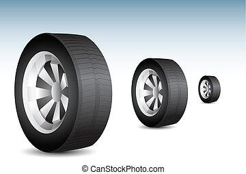 rolando, pneumático