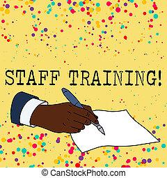 roles., foto, conocimiento, texto, actuación, training., señal, corriente, aprender, conceptual, específico, personal, perforanalysisce, mejorar
