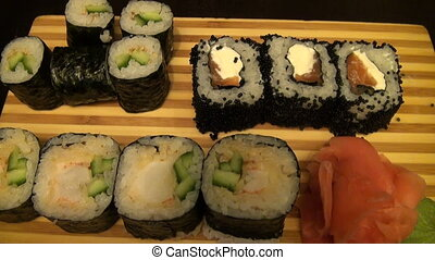 Roll and Sushi