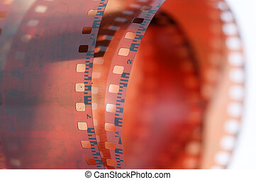 roll of a vintage 35mm color negative film