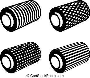 roll of anything foil thread spool