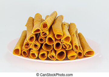 Roll of mango sheet - The roll of mango sheet or dried mango...