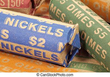 Nickels - Roll of Nickels