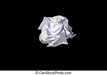 roll of paper waste