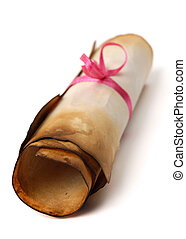 Roll of Parchment