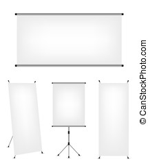 Roll up x-stand banner