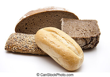 Roll with bread