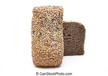 Roll with wholemeal bread