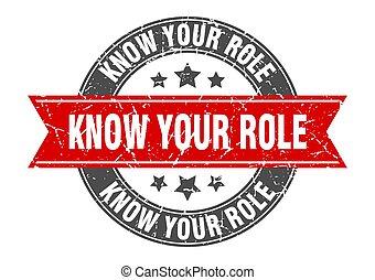rolle, briefmarke, zeichen, dein, runder , etikett, wissen, ...