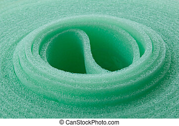Rolled insulation mat