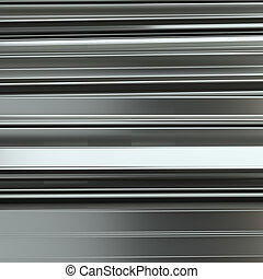 Rolled metal L-bar, close-up. 3D Illustration