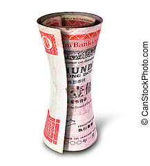 Rolled Money Note
