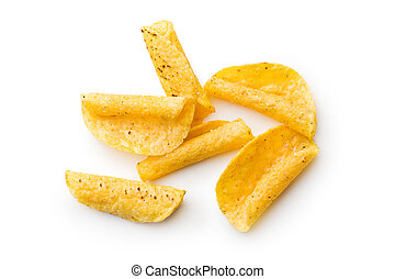 rolled nacho chips