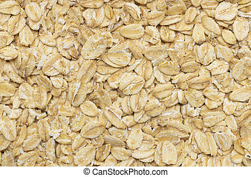 rolled oats background - rolled oats for a background