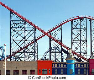Roller Coaster - Blackpool roller coaster