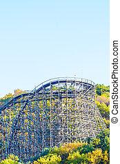 Roller coaster in korea park