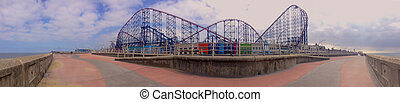 Roller coaster at Blackpool
