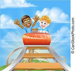 Roller Coaster Theme Park