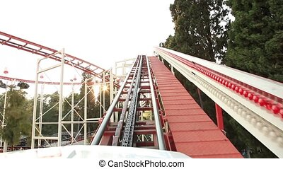 roller coaster time lapse