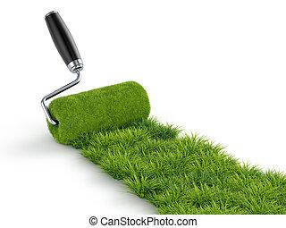 Roller grass