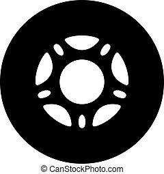 Roller skate wheel