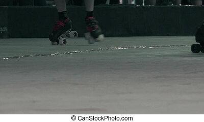 Roller Skates Closeup Battle Royal - The closeup chaos of...