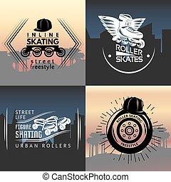 Roller Skating Concept