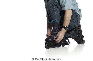 rollerblade adjustment