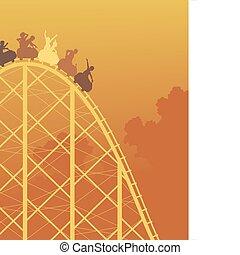 rollercoaster, 骑