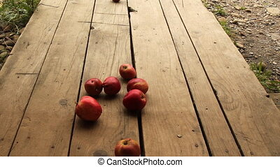 rolling apple