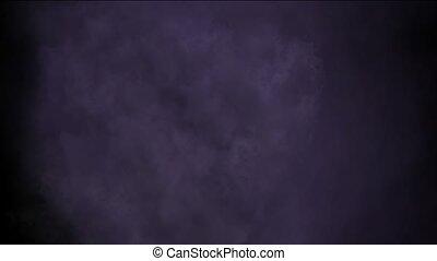 rolling dark clouds & smoke