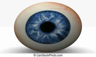 Rolling eye