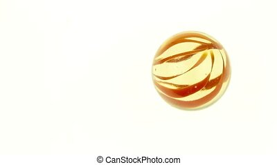 Rolling glass marbles 1080p HD Video