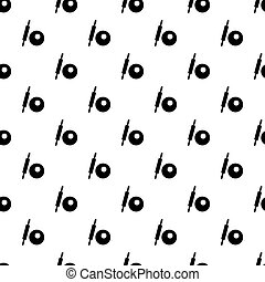 Rolling pin and dough pattern vector